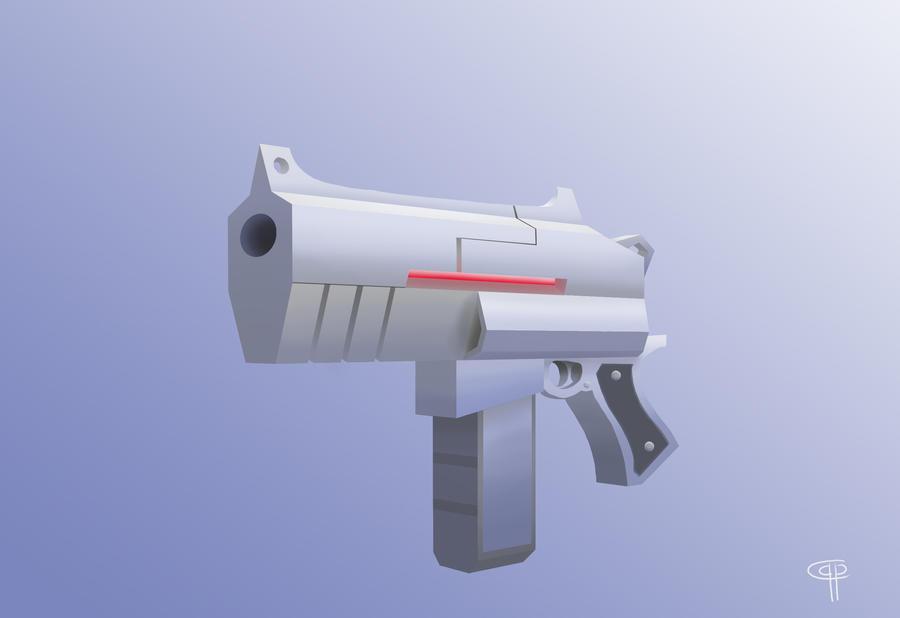 SciFi Gun by NathanChristopher