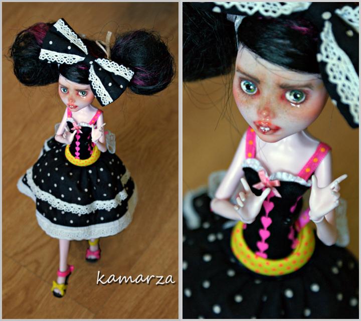 Walking Federica OOAK Doll Rep by kamarza