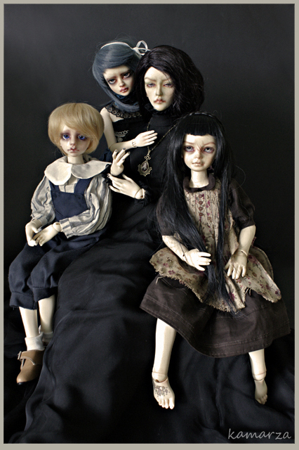 Orphanage Family Portrait by kamarza