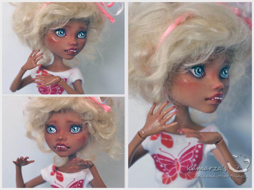 Monster High dolls from the Gloom Beach - Page 2 Lola_mh_ooak_repaint_by_kamarza-d47cshd