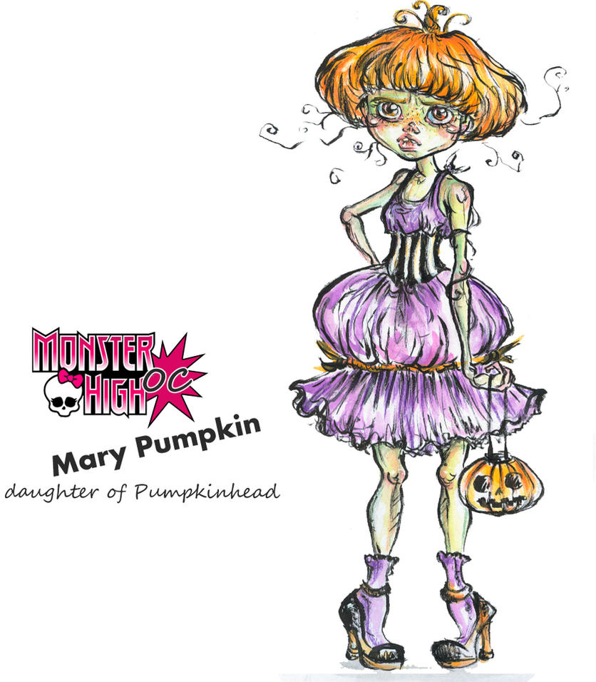 MH OC Mary Pumpkin by kamarza
