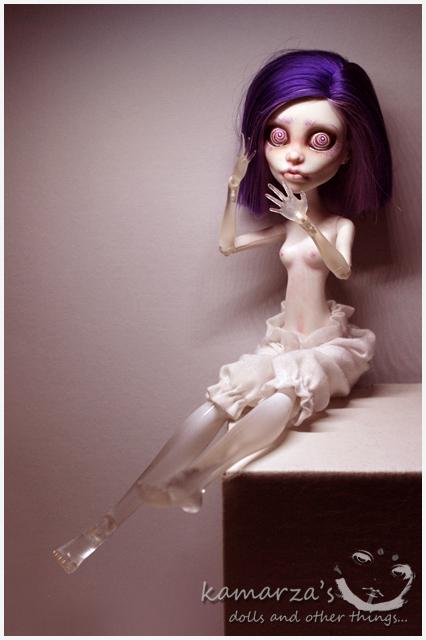 Miss Hypnotica OOAK Repaint 1 by kamarza
