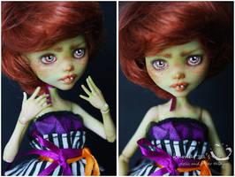 Mary Pumpkin Custom Doll 1