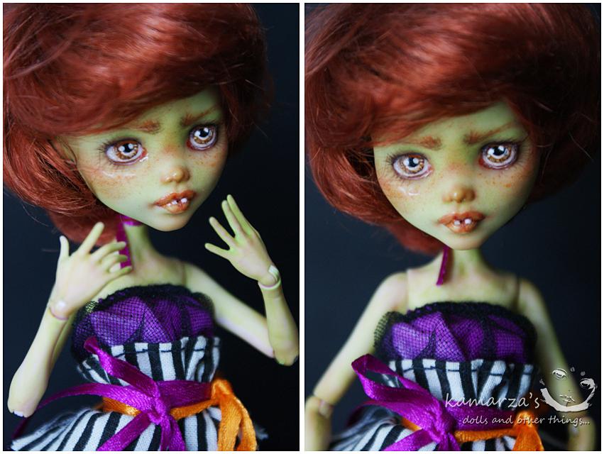Mary Pumpkin Custom Doll 1 by kamarza