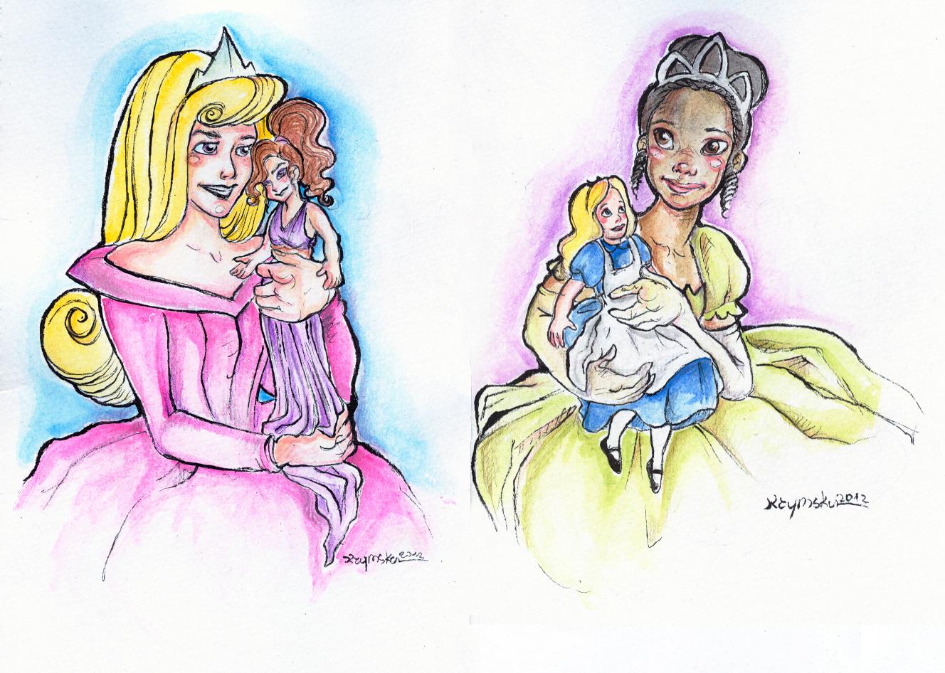 I love Disney I love Dolls 3 by kamarza