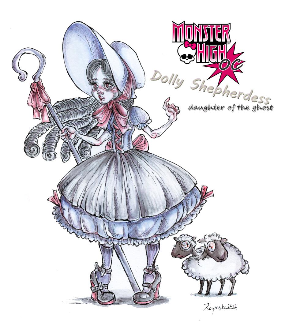 MH OC Dolly Shepherdess by kamarza