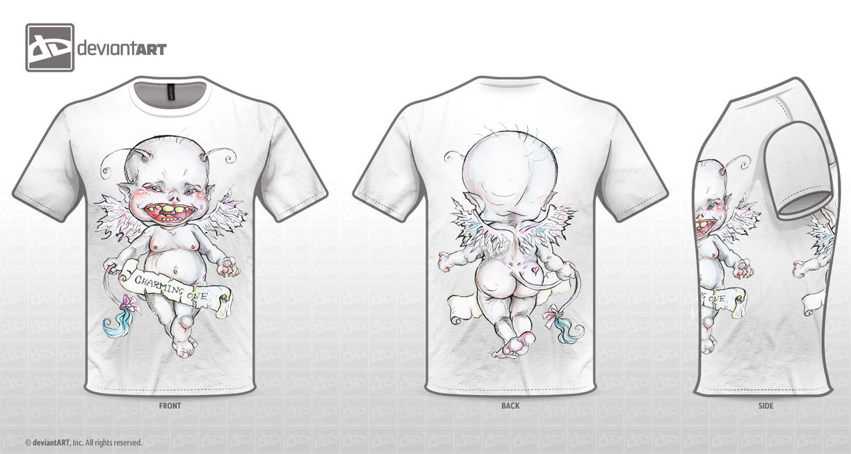 Charming One T-Shirt Design Challenge by kamarza