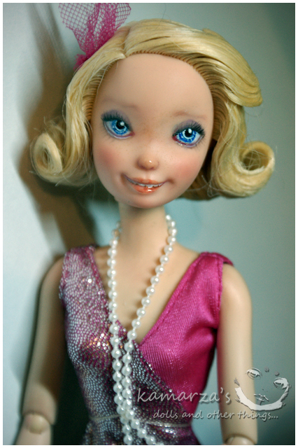 Mattel Charlotte Repaint by kamarza