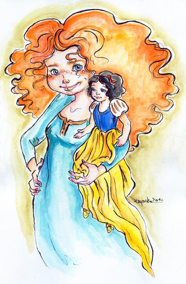 I love Disney I love Dolls 5 by kamarza