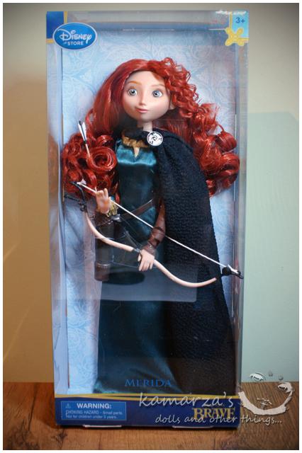Disney Store Merida doll boxed by kamarza