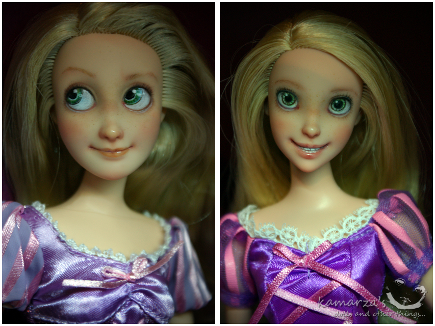 Rapunzel vs. Rapunzel by kamarza