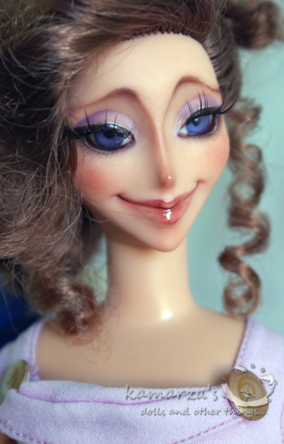 Disney Keepsake Megara doll repaint 4 by kamarza