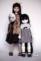 Scary Girls by kamarza