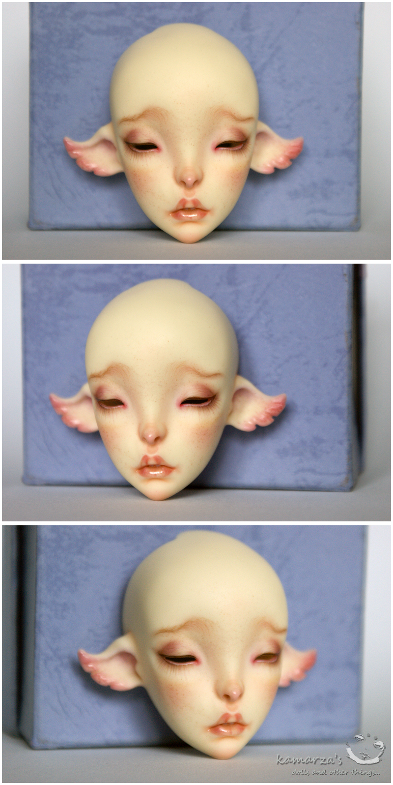 Cerisedoll Ombre faceup commission by kamarza