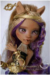 MH Clawdeen faceup commission