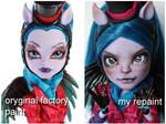 Monster High Avea before and after