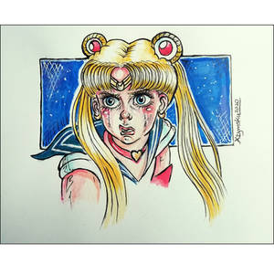 redraw sailor moon challange 2