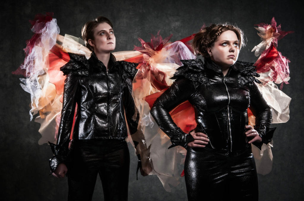u0027Let The Games Beginu0027 - Katniss and Peeta Cosplay by OxfordCommaCosplay u0027 ...  sc 1 st  DeviantArt & Let The Games Beginu0027 - Katniss and Peeta Cosplay by ...