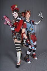 Mad Moxxi + Gaige - Borderlands 2 Cosplay Costumes by OxfordCommaCosplay