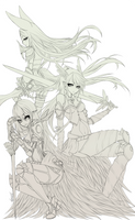 Commission: MangoStickyRice by Karousel-k