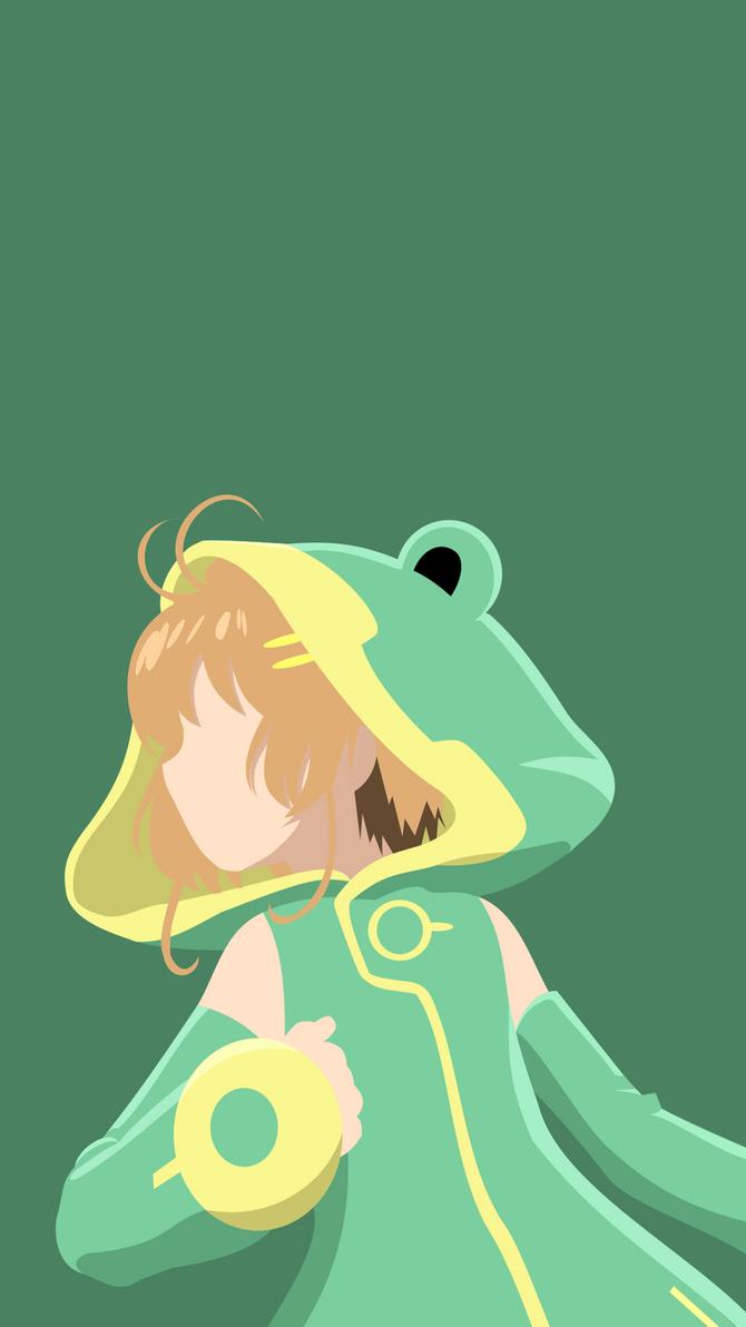 CardCaptor Sakura (Froggy Costume) by N3VYCK