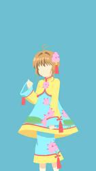 CardCaptor Sakura (Chinese Lotus Costume) by N3VYCK