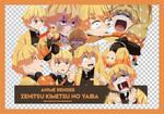 Anime Render #01 : Zenitsu KnY by pinkeuuu