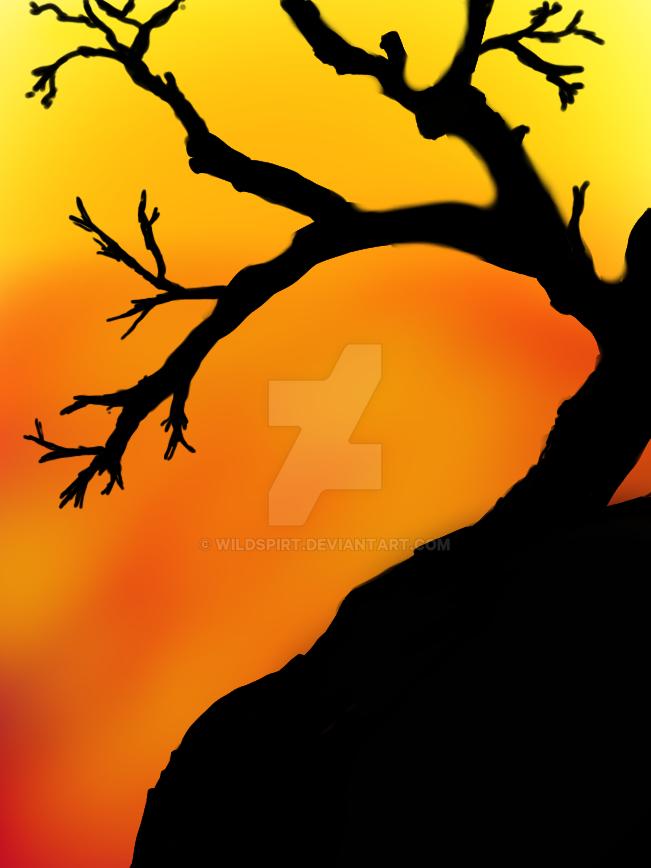 30 Minute Challenge: Sunset by wildspirt