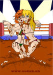 mud fight by ccdck