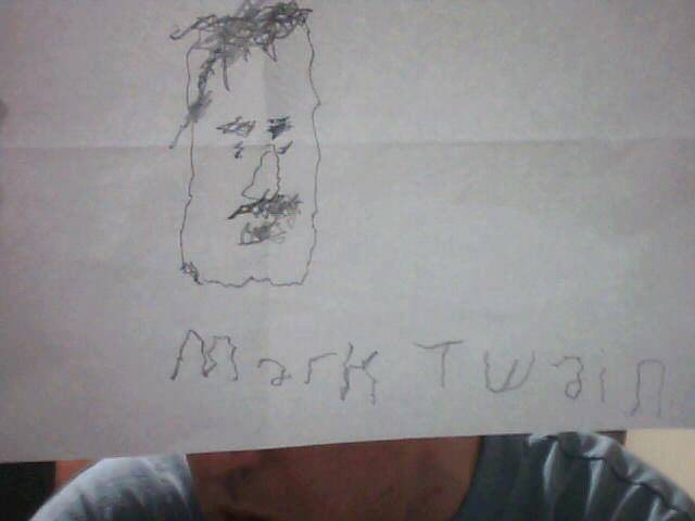 Mark Twain by Pantologist