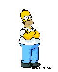 Homer Simpson by Gentleman89
