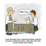 Restaurant - Weekly programming webcomic
