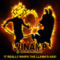 Winamp - Weekly programming webcomic