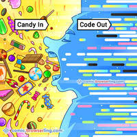 Candy - Code - Weekly programming webcomic