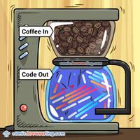 Caffeine - Code - Weekly programming webcomic