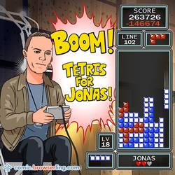 Tetris - Weekly programming webcomic