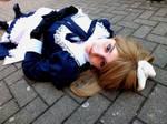 Like a marionette... Sad, isn't it? by blackAunty