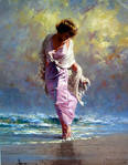 Soft Sway 30 x 40 By Robert Hagan by robert-hagan