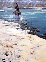 'Chill' - 30 x 40 Oil on Canvas by Robert Hagan by robert-hagan