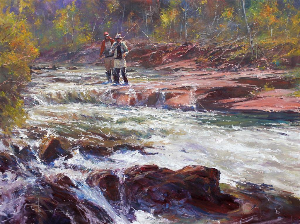 'Fly' - Oil on Canvas By Robert Hagan by robert-hagan