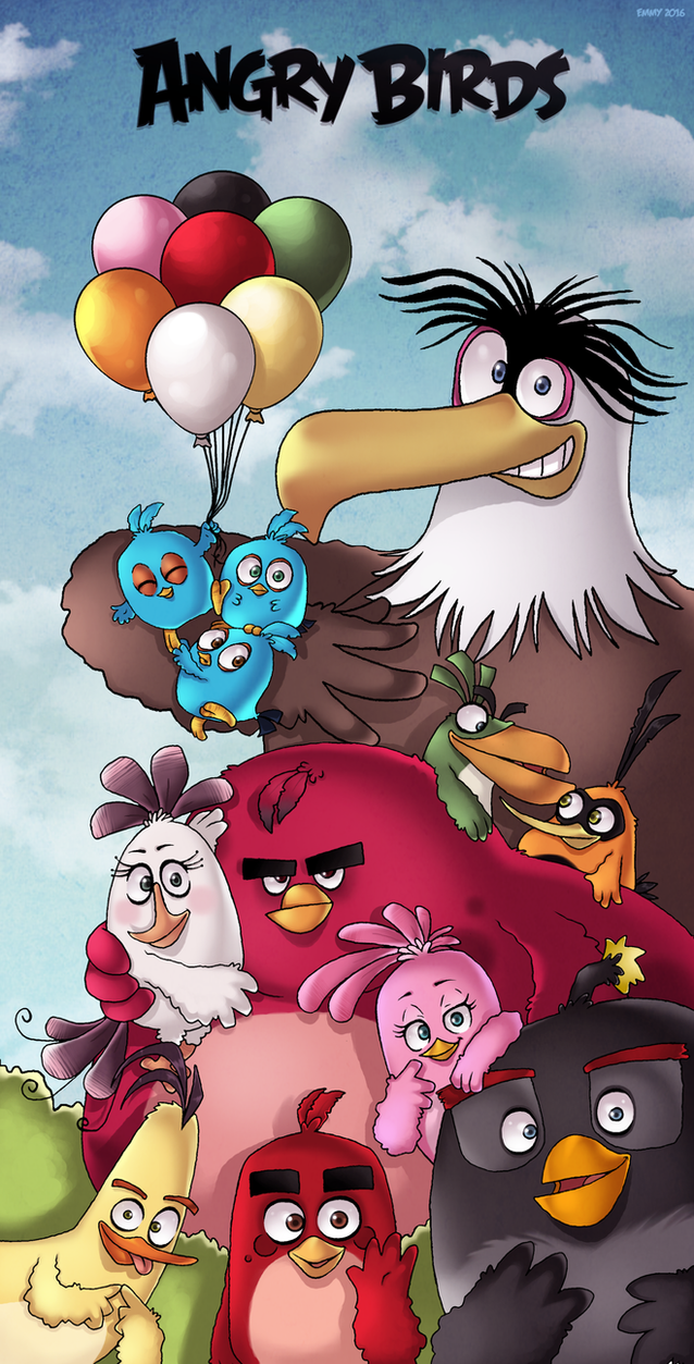 The Best Birds by AngryBirdsArtist