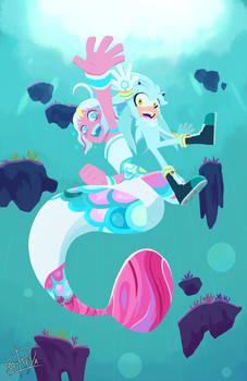 Dreams of a Swimming Undersea Parade