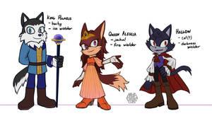 [Sonic OC] Astrum royals