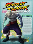 STREET FIGHTER DESTINY: GOLUBOVIC