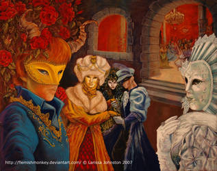 Masquerade Ball - Garden by FlemishMonkey