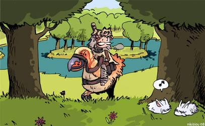 Ragnarok Online - Old Knight by nikisiou