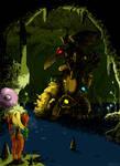 Super Metroid - The Statue