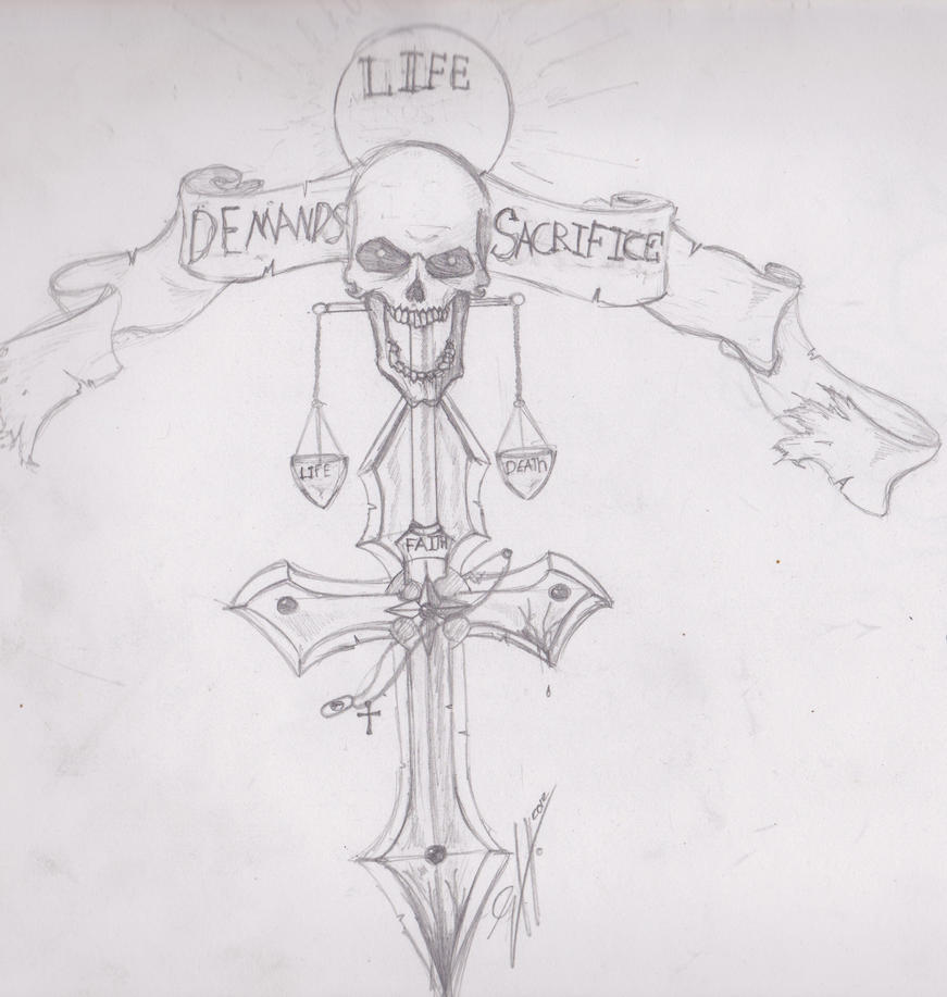 641 Free Hd I Flash Tattoo Design 2012: Tattoo Design Sacrifice By Z0MbaziN8tor On DeviantArt