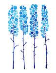 True Blue Watercolor