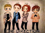 One Direction Chibis!